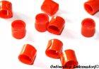 Bandringe 5 mm orange 10 Stück