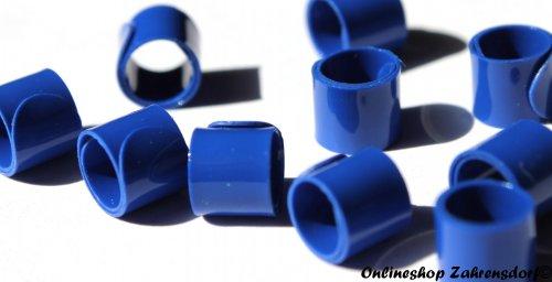 Bandringe 6 mm dunkelblau 10 Stück