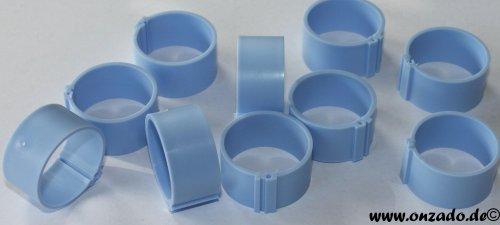 Clipsringe 25 mm hellblau 10 Stück