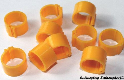 Clipsringe gelb 11 mm 10 Stück