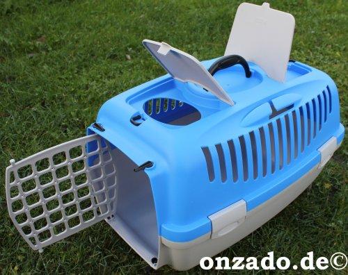 Transportbox aus Kunststoff mit Griff