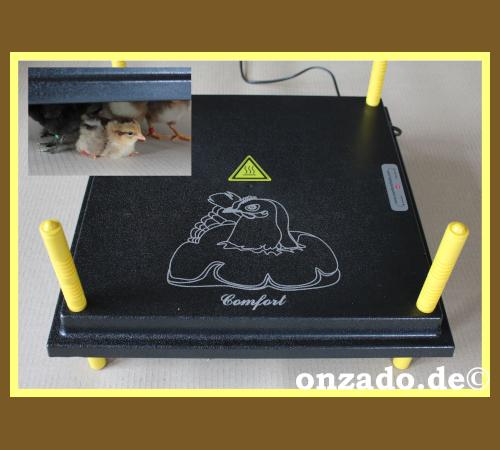 Wärmeplatte für Küken 40x40 cm