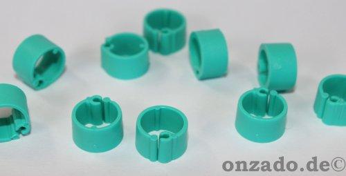 Clipsringe mintgrün 07 mm 10 Stück