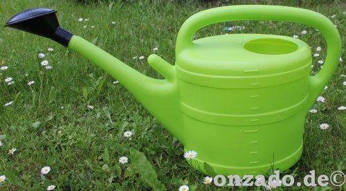 Stallgießkanne 10 Liter mintgrün aus Kunststoff mit Brause