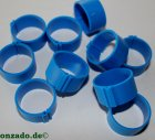 Clipsringe 25 mm dunkelblau 10 Stück