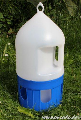 5 L Taubentränke mit Handgriff aus Kunststoff