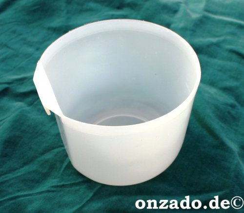 Käfignapf klar aus Kunststoff  300 ml