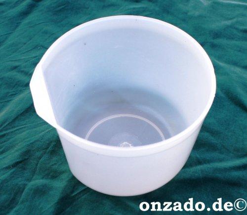 Käfignapf klar aus Kunststoff  500 ml