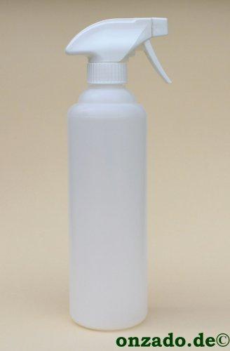 PE Leerflasche mit Spritzaufsatz 500 ml