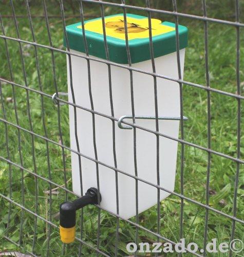 Nippeltränke 1,0 L mit Haltebügel